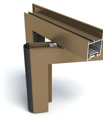 PS - Système de portes à usage intensif